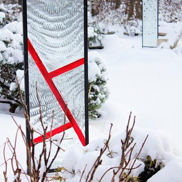 Outdoor Glass Art